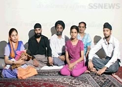 First Afgahn Sikh Family to become citizen of India